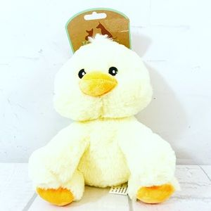 Kellypet 8in Sitting Duck With Squeaker Dog toy